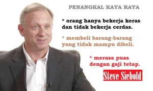 10 Penghalang Menjadi Kaya Raya kata Jutawan Steve Siebold. Ilustrasi Foto: NUSANTARAnews