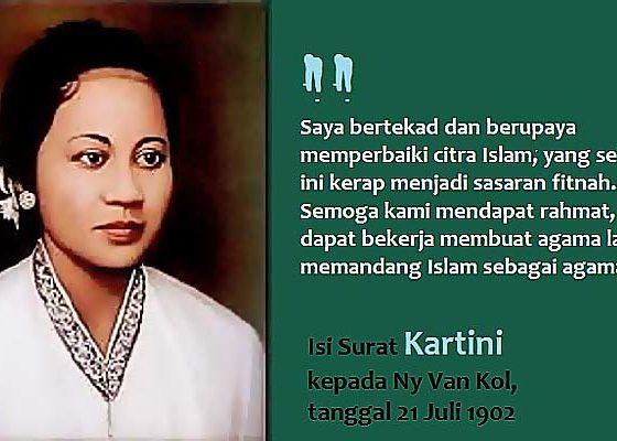 Kisah langka pertemuan Kartini dengan ajaran Islam yang otentik.