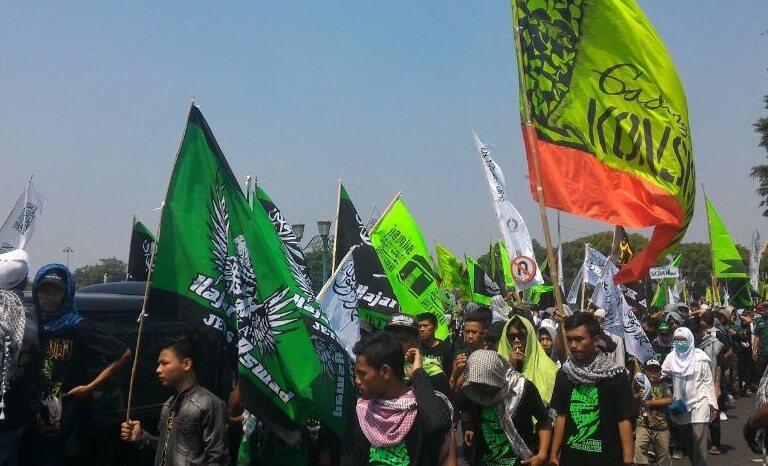 Parade Laskar PPP DIY. (Foto: Istimewa/NusantaraNews)