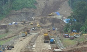 Pembangunan Tol Bawen-Salatiga/Foto via kompas/Nusantaranews