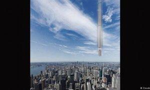 Perusahaan arsitektur Clouds Merancang Bangunan Pencakar Langit Dengan Menggantung di Asteroid/Foto via DW/Nusantaranews