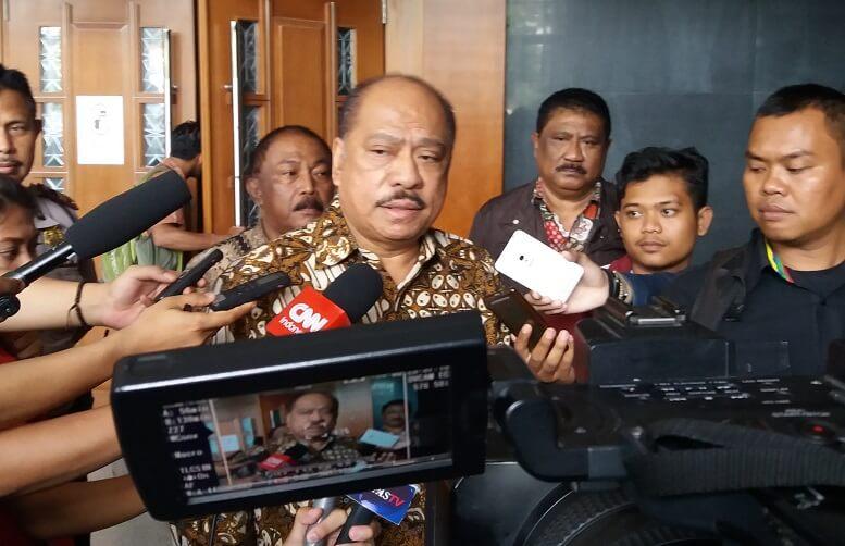 Politisi Partai Golkar, Melchius Markus Mekeng/Foto restu fadilah/Nusantaranews