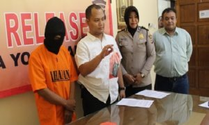 Polresta Yogyakarta Berhasil Meringkus Seorang Residivis. Foto: Dok. Polresta Yogyakarta