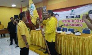 Rahmad Taufik Ketua Golkar Ponorogo/Foto Nur/Nusantaranews