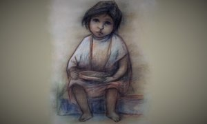 Sad Child by Fanny Rabel | Art Brokerage/ NUSANTARAnews