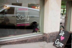 Savy Coffe Bar. Kahvila is the Finnish word for coffe shop | andershusa.com