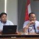 dialog membangun ketenangan kerja di perusahaan dan pelatihan Teknik negosiasi dalam hubungan industrial/Foto Uchok/Nusantaranews