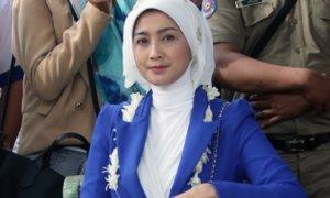 Desy Ratnasari Siap Ramaikan Pilgub Jabar. Foto Okezone