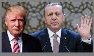 Recep Tayyip Erdogan and Donald Trump. Foto ilustrasi: Yeni Şafak
