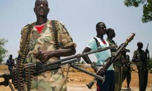 Ilustrasi Genosida di Sudan Selatan/Foto: AFP/Getty Images