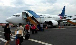 Sriwijaya Air Buka Jalur Makassar Ke Semarang PP. Foto Tri Wahyudi