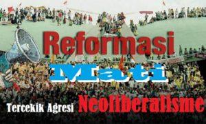 Reformasi Mati Tercekik Agresi Neoliberalisme. Ilustrasi Foto: NUSANTARAnews