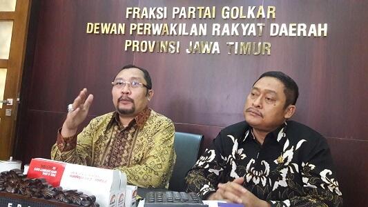 Sekretaris DPD Partai Golkar Jatim Sahat Tua Simanjuntak. Foto Tri Wahyudi