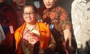 Politikus Partai Hanura; Miryam S Haryani Usai Jalani Sidang/Foto restu fadilah/nusantaranews