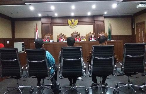 Sidang lanjutan korupsi e-KTP ke-17 Senin, (29/5/2017). Foto Restu Fadilah/ NUSANTARAnews
