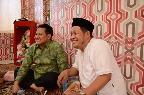 Abdullah (Gus Abduh) bersama Muhaimin Iskandar/Foto Hatim/Nusantaranews