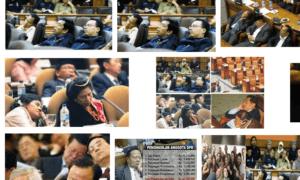 Anggota DPR Sedang Tidur/Foto Croup/Nusantaranews