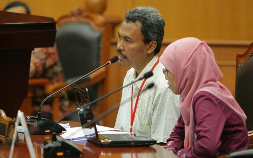 Anggota Dewan Ketahanan Pangan, Khudori. Foto: Dok, mahkamahkonstitusi.go.id