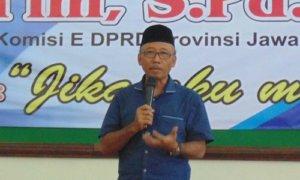 Wakil Ketua Komisi E DPRD Jawa Timur, Suli Da'im. Foto Muh Nurcholis