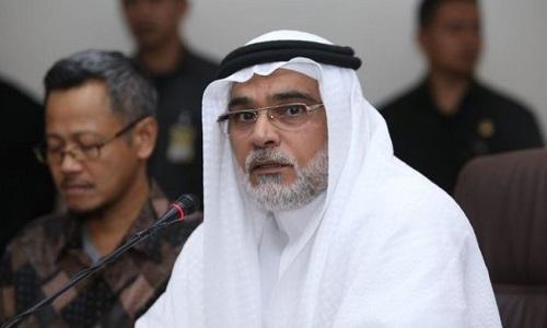 Dubes Arab Saudi Osama bin Mohammed Abdullah Al Shuaib. Foto: Dok. Tribunnews.com