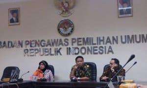 Ketua Bawaslu, Abhan saat Konferensi Pers, di Kantor Bawaslu, Jalan MH Thamrin, Jakarta Pusat, Selasa, (9/5/2017). Foto Restu Fadilah/ NUSANTARAnews