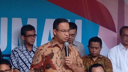 Gubernur DKI Jakarta Anies Baswedan. (Foto: Richard Andika/ NUSANTARAnews)