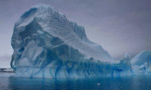 Gunung Es Antartika. Foto: ABC