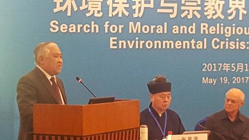 Din Syamsuddin Pimpin Tokoh Lintas Agama di Beijing. Foto Dok. Pribadi Din Syamsuddin