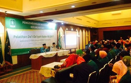Ketua KPK Agus Rahardjo di PBNU, Kramat Salemba, Jakarta Pusat, Selasa, (30/5/2017). Foto Restu Fadilah/ NUSANTARAnews