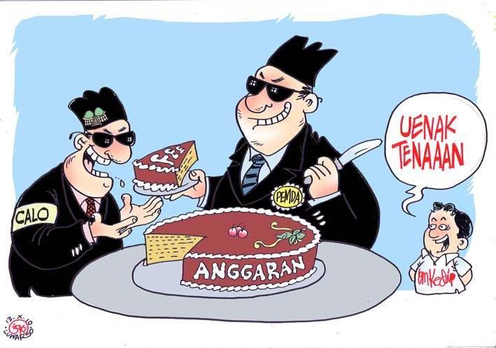 Ilustrasi Kebobrokan Elit Politik/Foto via acehstu/Nusantaranews