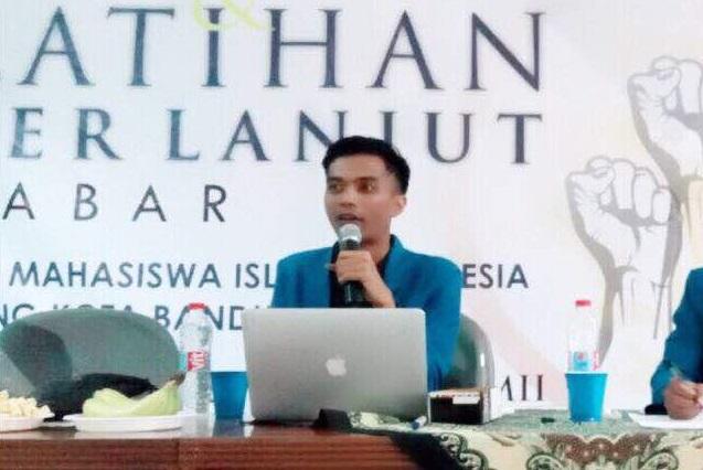 Kandidat Ketua Umum PB PMII Taufik Nurrohim