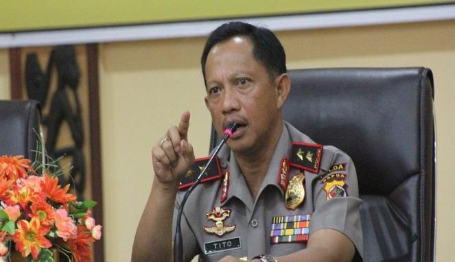 Kapolri Tito Karnavian/Foto via viva/Nusantaranews