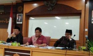 Ketua Ikatan Alumni UIN Sunan kalijaga Yogyakarta (IKA SUKA), Syaiful Bahri Anshori (Paling kiri)/FotoUcok/Nusantaranews