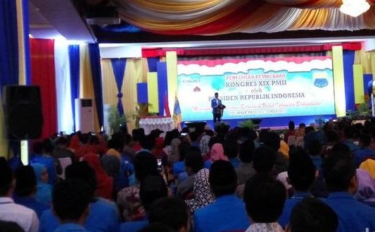 Ketum PB PMII Aminudin Ma'ruf/Foto Via Detik/Nusantaranews