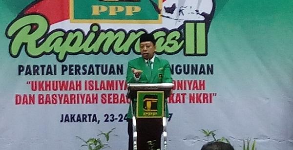 Ketum PPP Romahurmuziy/Foto Andika/Nusantaranews