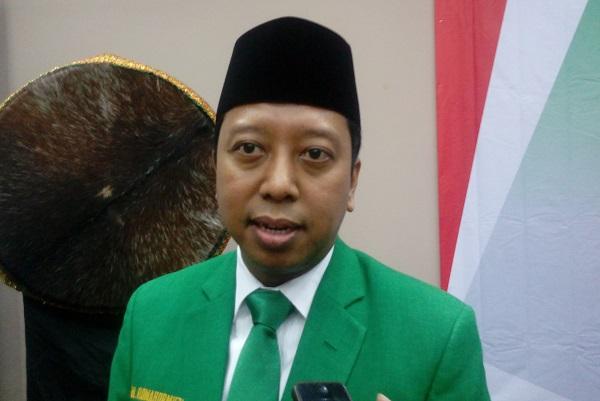 Ketum PPP Romahurmuziy/Foto Richard Andika/Nusantaranews