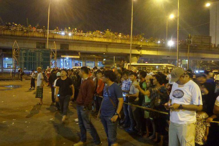 Ledakan Kampung Melayu/Foto Istimewa/Nusantaranews