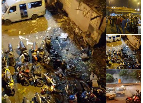 Ledakan di Kampung Melayu/Foto Istimewa/Nusantaranews