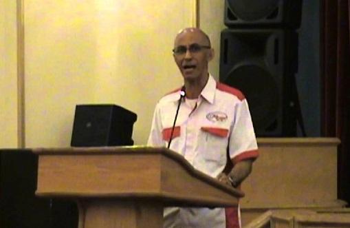 Mantan pengurus Korp Alumni Himpunan Mahasiswa Islam (KAHMI), Geisz Chalifah. Foto: Dok. telegram.co.id