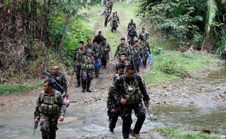 Militer Filipina/Foto Istimewa/Nusantaranews