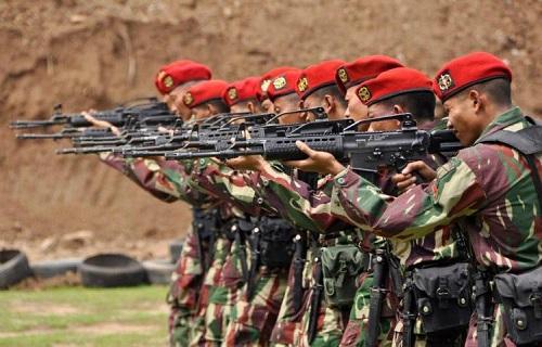 Pakai Senjata Buatan Pindad, Indonesia Juara Tembak di Australia. Foto: Dok. Militer One