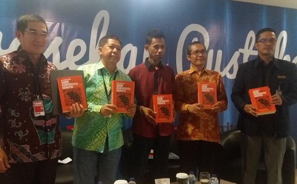 Peluncuran buku dilaksanakan di Gedung KPK/Foto Restu Fadilah/Nusantaranews