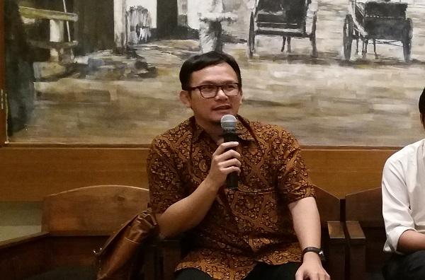 Penyidik di Direktorat Jenderal Pajak Kementerian Keuangan (DJP Kemenkeu) Firman Drajat/Foto Restu Fadilah/Nusantaranews
