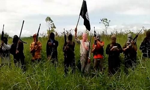 Pergerakan ISIS di Filipina. Foto: Dok. SINDOnews