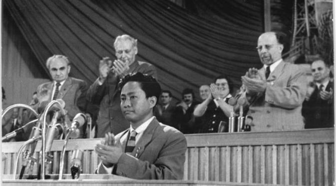 Pimpinan Partai Komunis Indonesia DN Aidit/Foto via liputan6/Nusantaranews