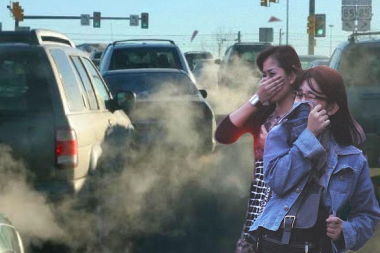 Image result for gambar polusi udara