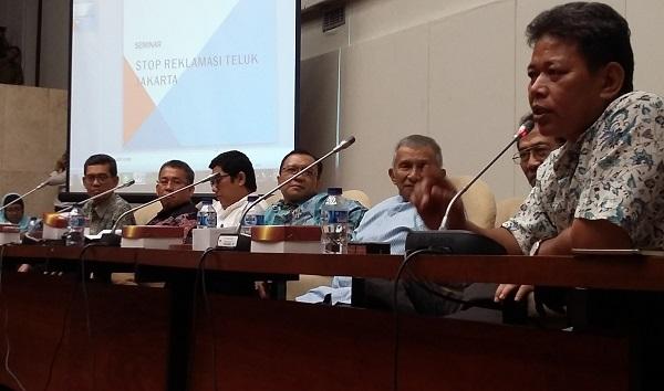 Seminar Stop Reklamasi Teluk Jakarta/Foto Ucok/Nusantaranews