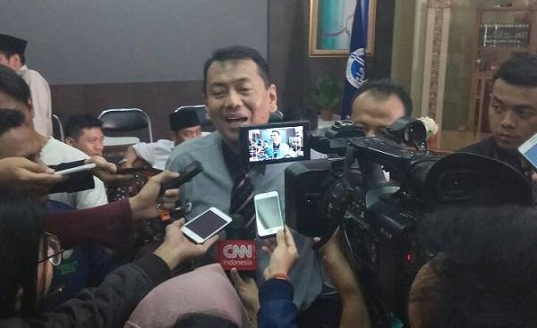 Tim Advokasi Gerakan Nasional Pengawal Fatwa Majelis Ulama Indonesia (GNPF-MUI) Kapitra Ampera/Foto Andika/Nusantaranews