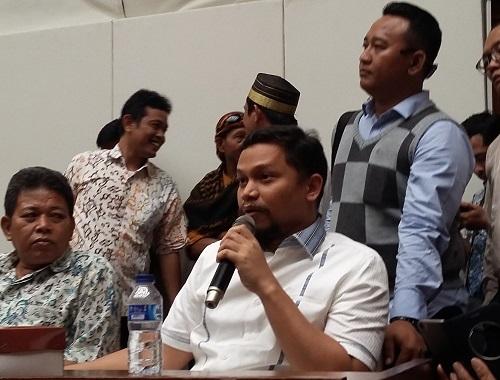 Wakil Ketua Komisi I DPR RI dari Fraksi PAN, Hanafi Rais. Foto Ucok Al Ayubbi/ NUSANTARAnews