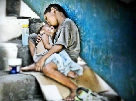 Bocah dan adiknya | Istimewa